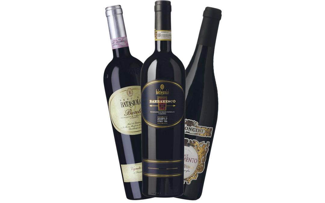 3 lækre italienske vine