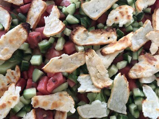 Hallumi-salat